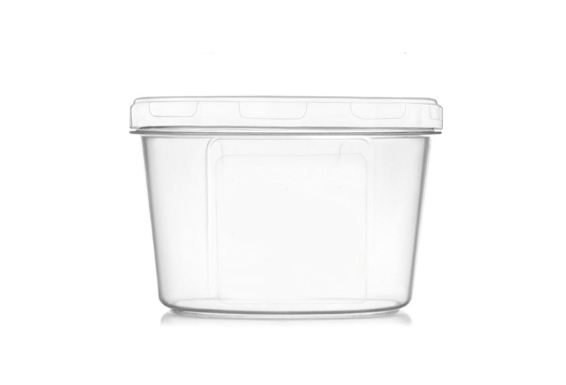 Ємність для дрібних сипучих та рідких продуктів 150 мл. біла (арт. 104б)