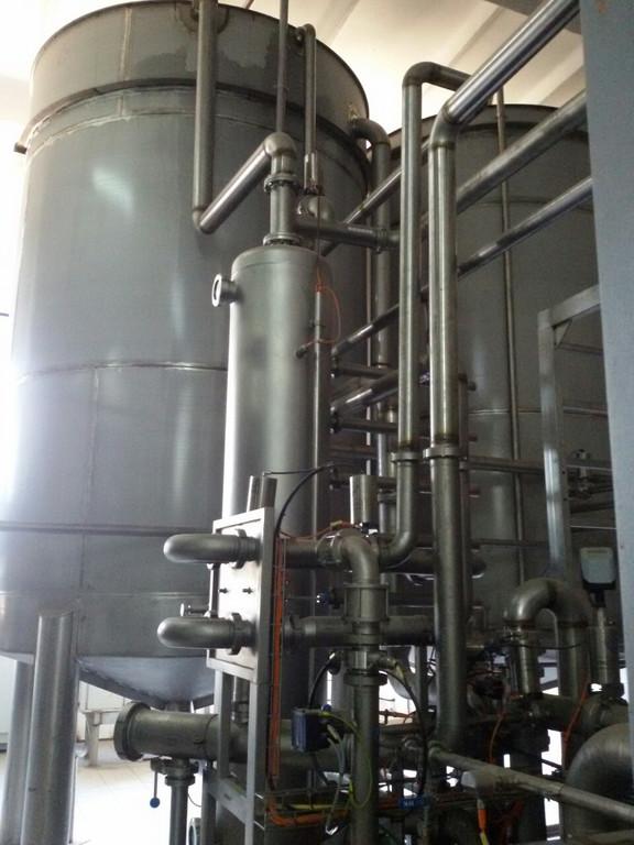 Автоматизация линии по производства сокового концентрата
