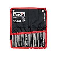 Пробойник отверстий  в коже 2,5*10 мм, 9 шт. YATO YT-3590 (YT-3590)