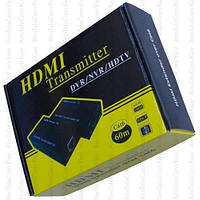 Удлинитель HDMI по одному кабелю витая пара до 60 метров, M-HD60A