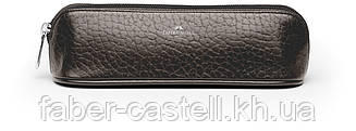 Футляр для ручек кожаный Faber-Castell Design малый коричневый, 189314