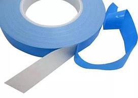 Теплопровідний двосторонній скотч ширина 10мм, довжина 10м, товщина 0.2 мм