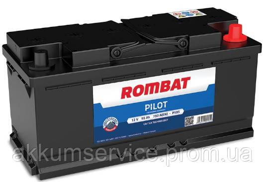 Аккумулятор автомобильный ROMBAT PILOT 95AH L+ 650A (PM95G)