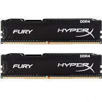 Модуль памяти для компьютера DDR4 16GB (2x8GB) 2666 MHz HyperX FURY Black Kingston (HX426C16FB2K2/16)