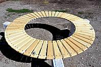 Лавка круглая подвесная