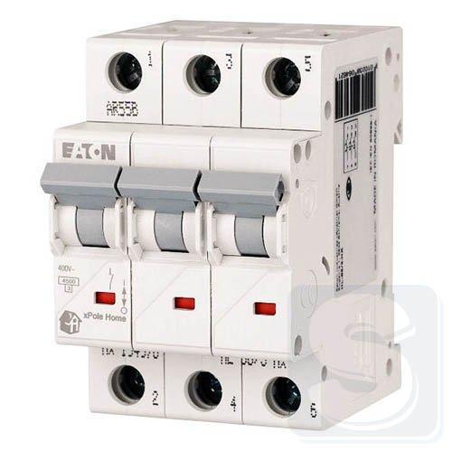 Автоматичний вимикач HL 3p 40A,C  EATON