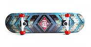Дерев'яний СкейтБорд від Fish Skateboard First Гарантія якості Швидка доставка, фото 3
