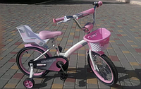 """Детский велосипед Crosser Kids Bike 18"""" (розовый), фото 1"""