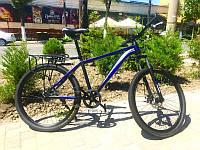 Велосипед Топ райдер 700 (черно-синий), фото 1