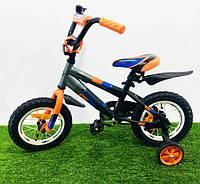 """Детский велосипед Azimut Stitch 12"""" (оранжевый), фото 1"""