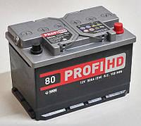 Автомобильный аккумулятор SADA PROFI HD 6СТ-80 (-/+) Евро 12В 80Ач 800А
