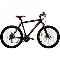 Велосипед Azimut Swift 26 GD+ (серо-красный)