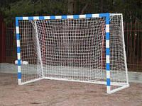 Ворота гандбольные 3000х2000 (разборные) с полосами