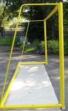Ворота для пляжного футболу 5500х2200 (розбірні), з дугами
