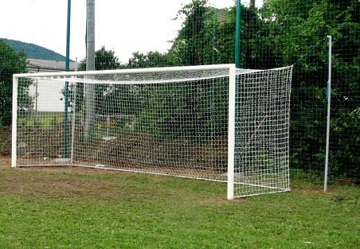 Ворота футбольные 7320х2440 (разборные), алюминиевые
