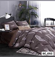 Полуторный комплект постельного белья Сатин