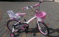"""Детский велосипед Crosser Kids Bike 18"""" (розовый)"""
