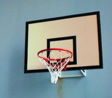 Щит баскетбольний 900х600 мм (ламінована вологостійка фанера 10 мм) з силовою антивібраційною рамою