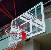Щит баскетбольний 900х600 мм (оргстекло 8мм) с силовой антивибрационной рамой