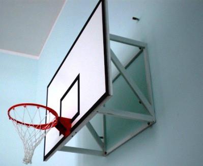 Ферма крепления баскетбольного щита фиксированная (вынос 40-80 см) для баскетбольного щита ( р-ры: 600х900мм, 1200х900мм, 1200х950мм)