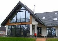 Фасады из алюминиевых конструкций