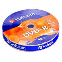 Диск Verbatim 4.7Gb -16x   ( shrink 10) azo  DVD-R