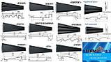 Металлический Сайдинг | Корабельная Доска | 0,4 мм RAL 9003 |, фото 10