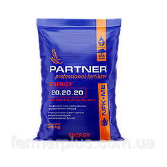 "PARTNER ""Energy"" NPK 20.20.20+ME+АМК (25 кг)"
