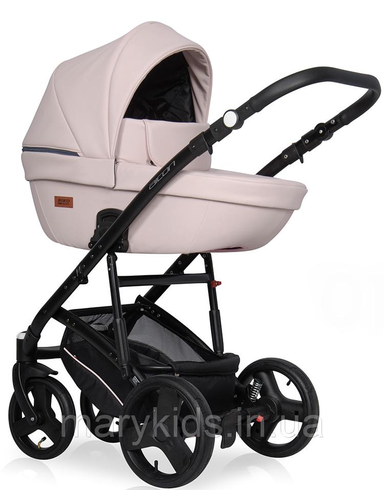 Детская универсальная коляска 2 в 1 Riko Aicon Pastel 01