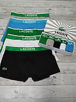 Набор мужских трусов Lacoste модель 5 шт