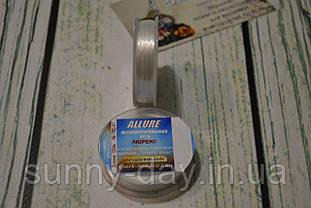 Люрекс ALLURE  (круглая металлизированная нить), цвет - белый