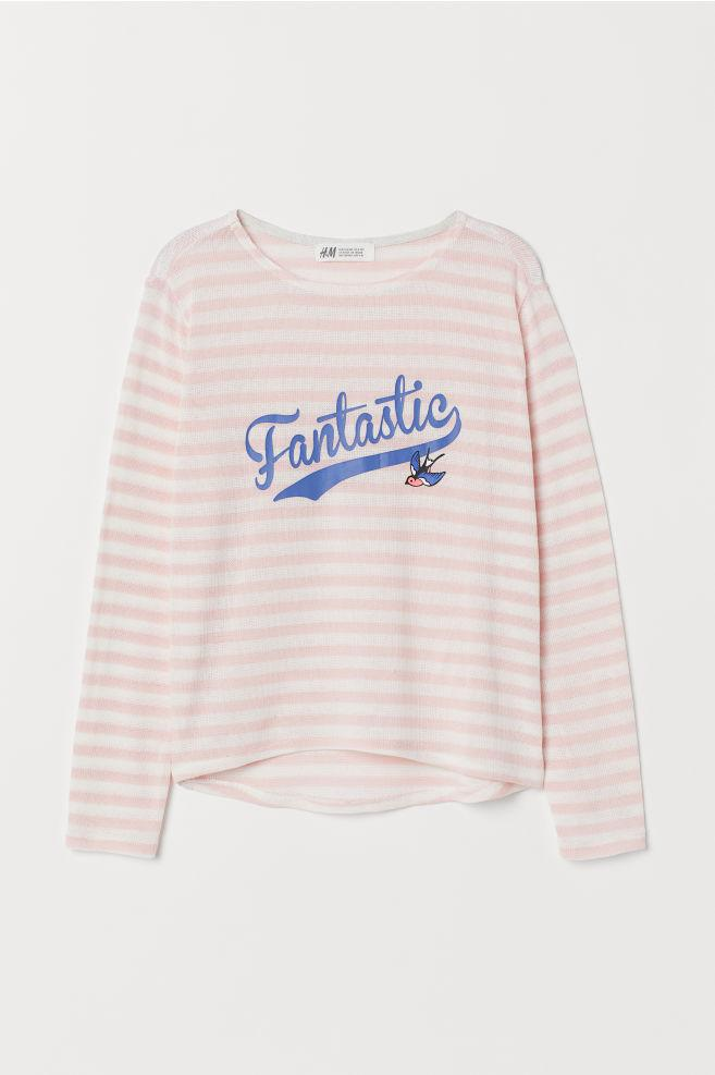 Свитер для девочки розовый Fantastic H&M р.134/140, 158/164