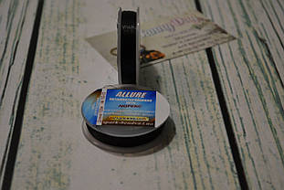 Люрекс ALLURE  (круглая металлизированная нить), цвет - черный