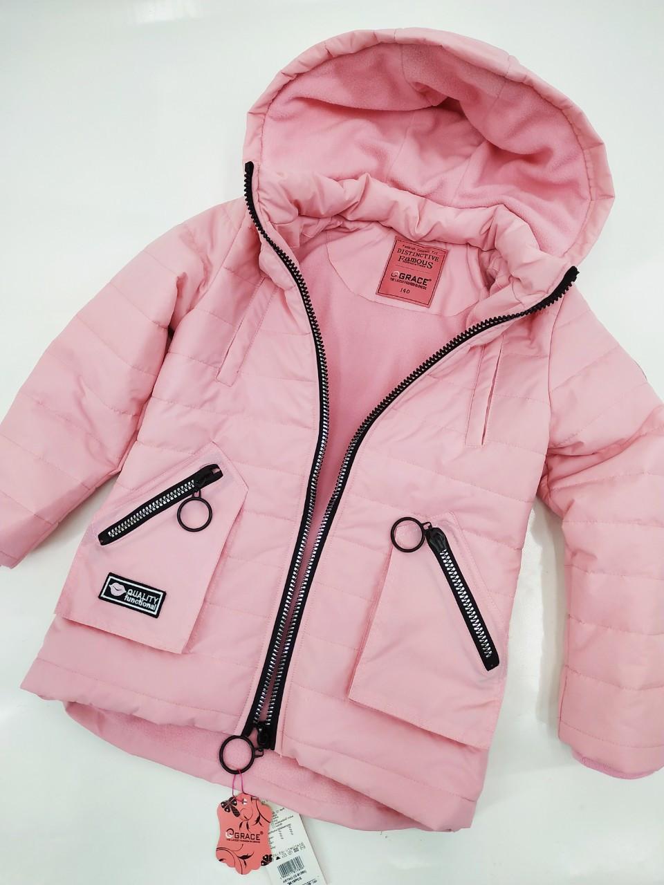 Демісезонна курточка для дівчинки 134-164 зростання