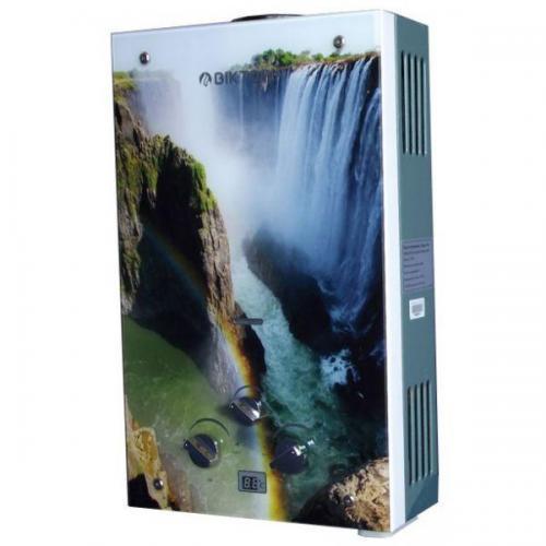 Газовая колонка Виктория JSD 08 дисплей водопад