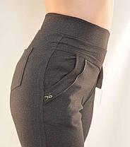 Брюки женские - большие размеры 5XL - 7XL Лосины женские с карманами - батал, фото 3