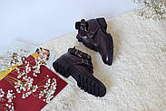 Ботинки цвета марсала ILONA, фото 7