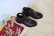 Ботинки цвета марсала ILONA, фото 6