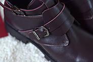 Ботинки цвета марсала ILONA, фото 8