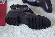 Ботинки цвета марсала ILONA, фото 9
