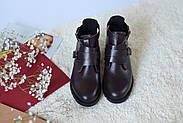 Ботинки цвета марсала ILONA, фото 10
