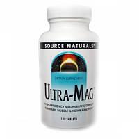 Ультра Магний Source Naturals Ultra-Mag (120 таблеток)
