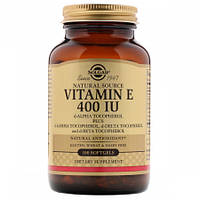 Витамины Solgar Vitamin Е 400 IU (100 желатиновых капсул) (105725) Фирменный товар!