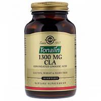 Конъюгированная Линолевая Кислота Solgar CLA 1300 мг Tonalin Тоналин (60 желатиновых капсул)