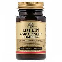 Препарат для улучшает работы глаз Solgar Lutein Carotenoid Complex (30 желевых капсул)