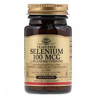 Selenium без Дрожжей Solgar Selenium 100 мкг (100 таблеток)