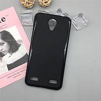 Чехол Soft Line для ZTE Blade A520 силикон бампер черный