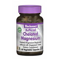 Хелатный Буферный Магний Bluebonnet Nutrition Chelated Magnesium 200 мг (60 желевых капсул)