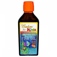 Рыбий Жир для Детей Carlson The Very Finest Fish Oil for Kids Labs (200 мл)