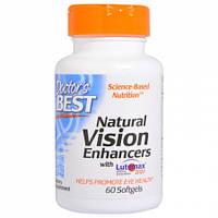Натуральная Формула для Улучшения Зрения Doctor's Best Natural Vision Enhancers with Lutemax (60 желатиновых капсул)